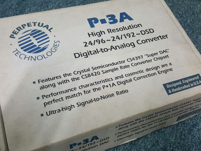 """Perpetual Technology  ModWright """"Signature"""" P-3A"""