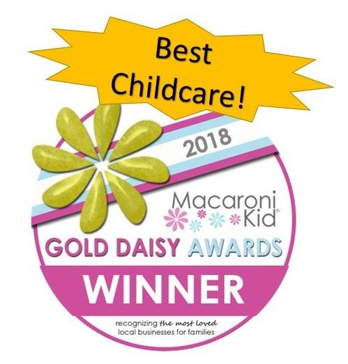 Macaroni Kid Franklin Spring Hill Gold Daisy Award Winner for Best Childcare