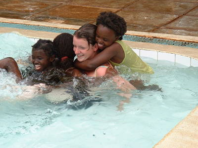 Public swimming Escapade in Kasarani