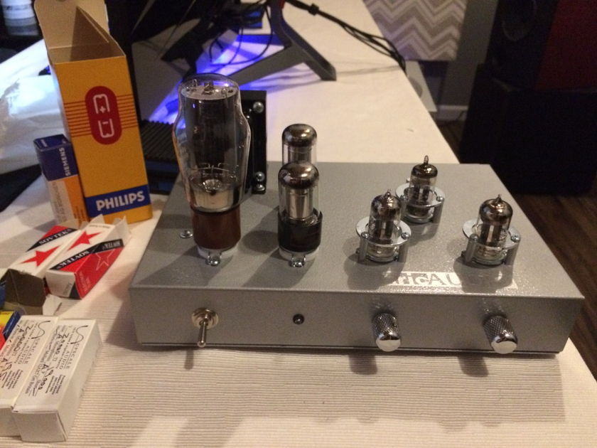 Aric Audio Unlimited tube preamp with various extra tubes