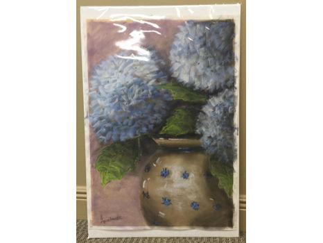 """Blue Hydrangeas"" by Gretchen Armbruster"