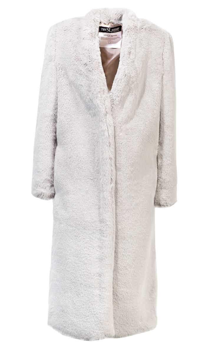 Cheburashka Grey fur coat