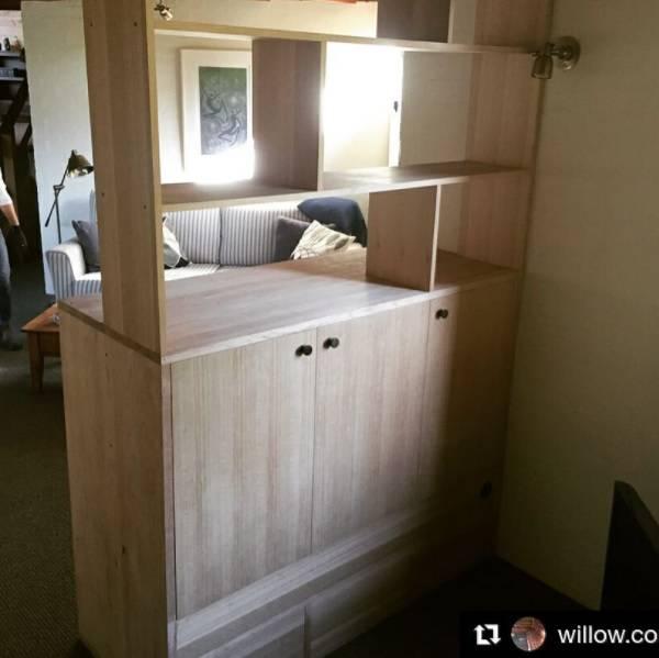 Wardrobe created with Sydney plywood