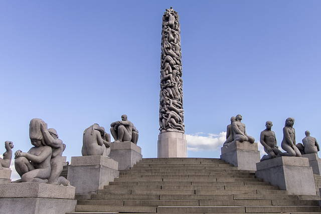 See the Famous Vigeland Park