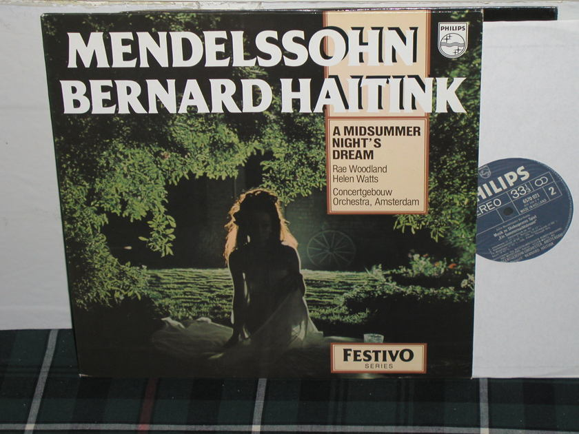 Haitink/COA - Mendelssohn Philips Import LP 6500