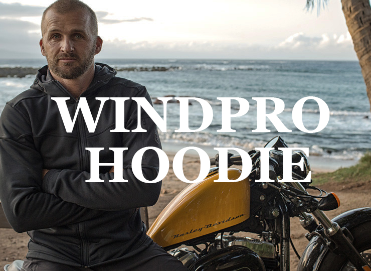 Bluesmiths Ultimate Windpro Travel hoodie