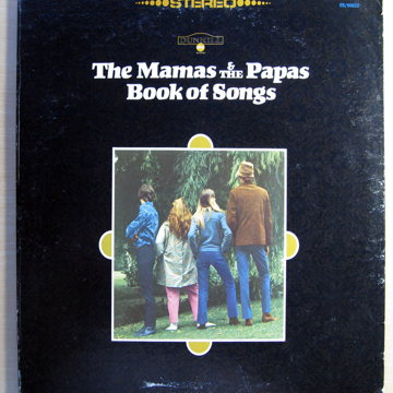 The Mamas & The Papas Book Of Songs
