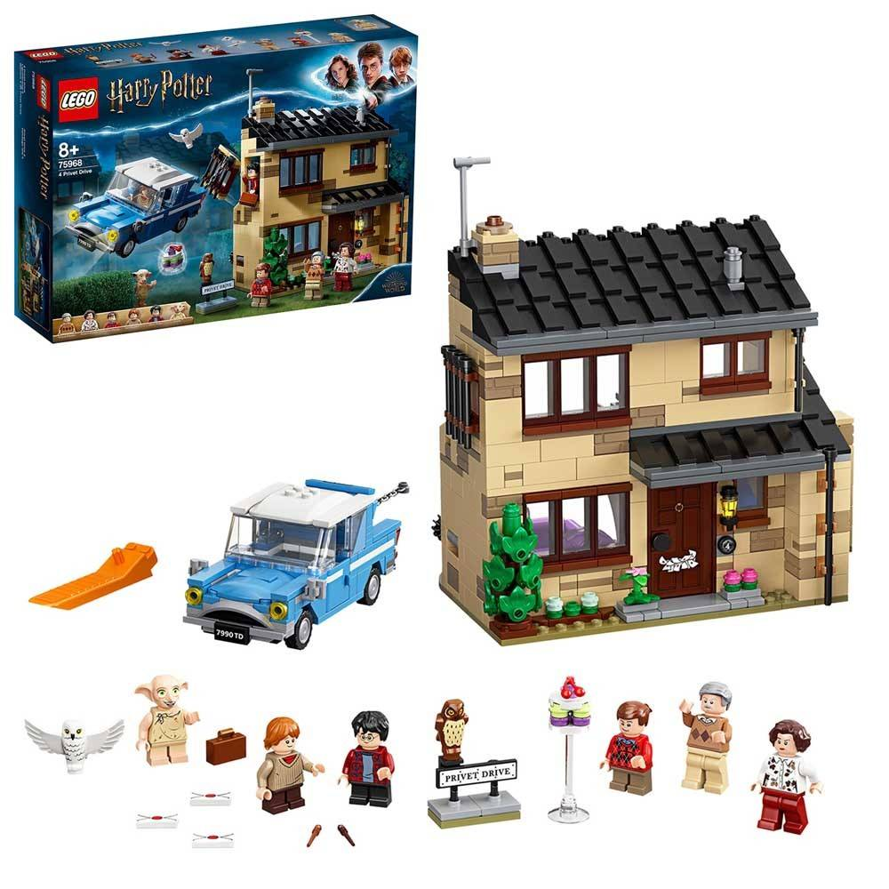 LEGO Harry Potter 4 privet drive jet