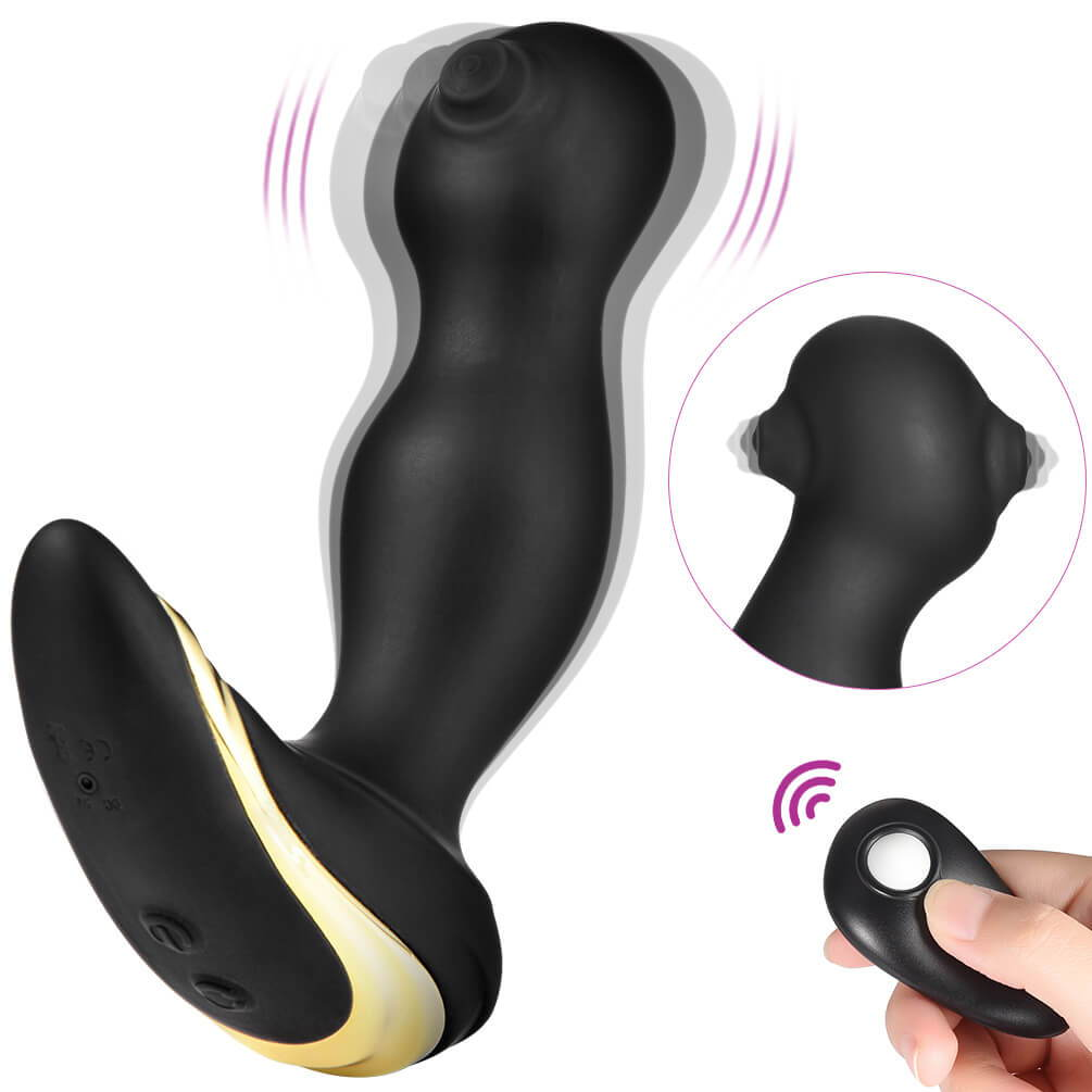Utimi-Prostate-Massager-Powerful-Butt-Plug-Rechargeable-Anal-Vibrator-with-Remote-Control
