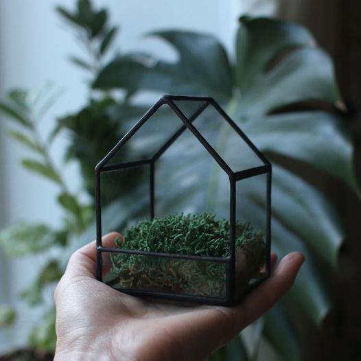 Декоративный домик для хранения и преподнесения подарков