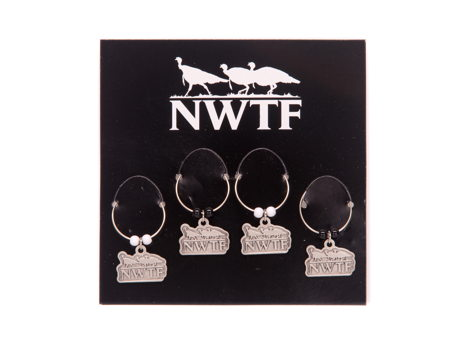 NWTF Wine Charms Set
