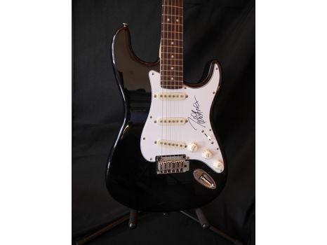 Peter Frampton Autographed Fender Guitar