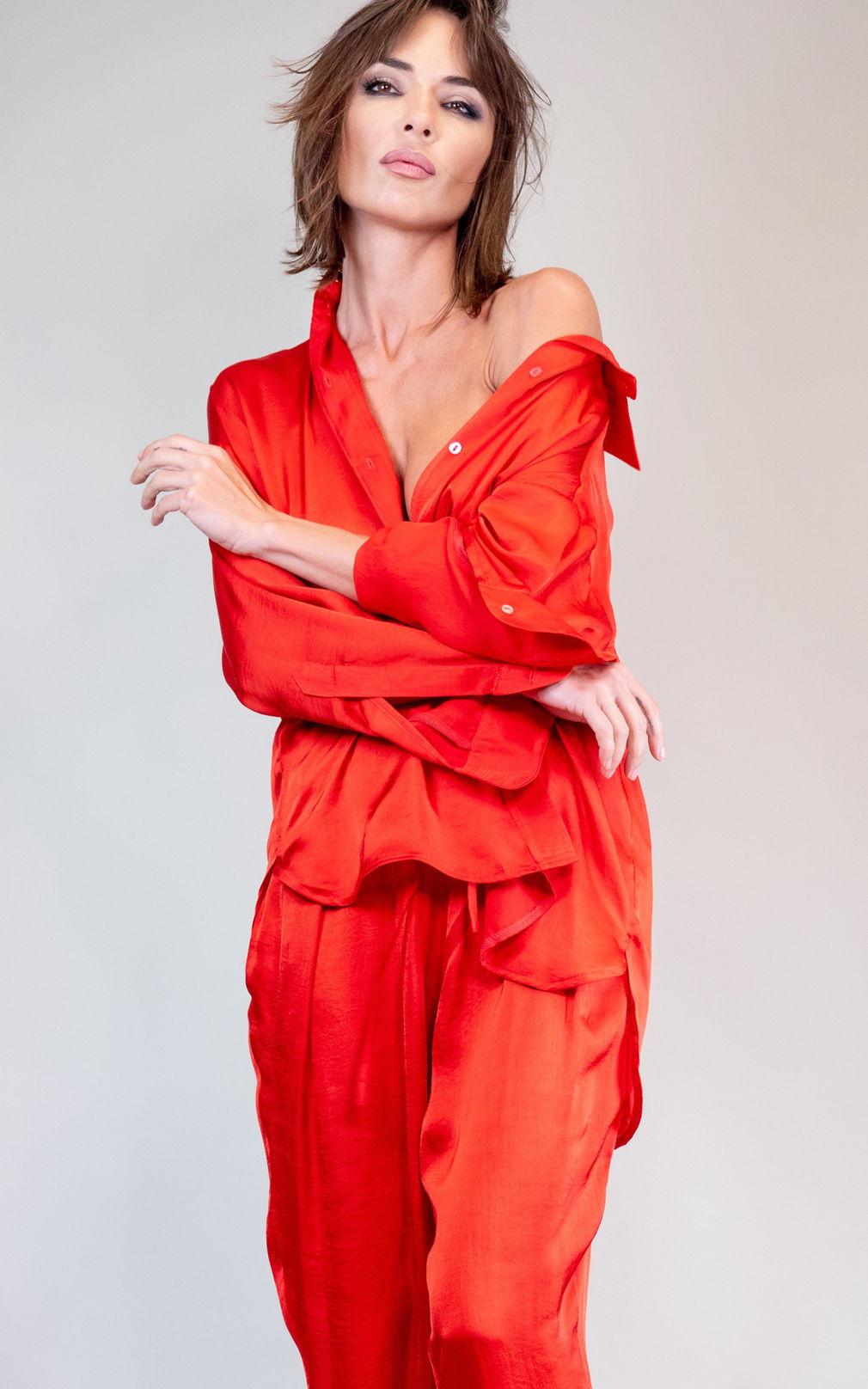 Рубашка Red Bedouin