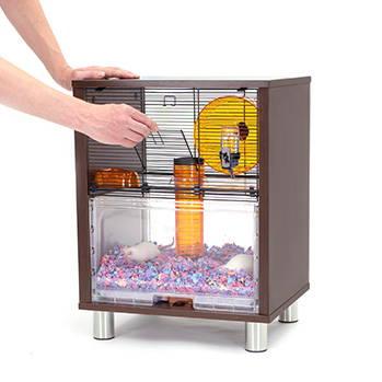 Omlet Qute hamster cage door opening