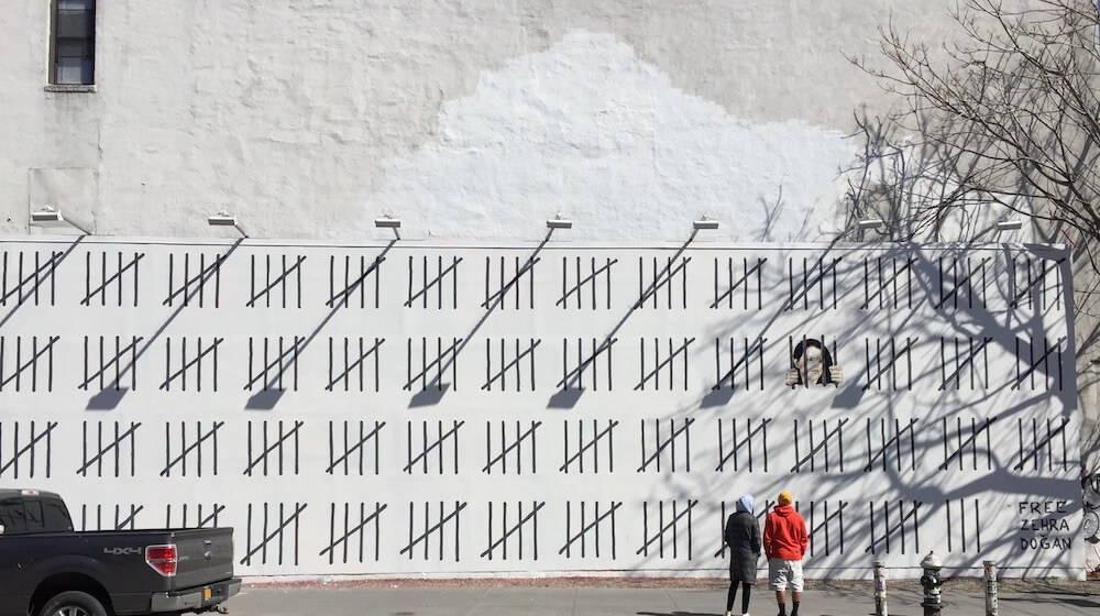 Banksy Mural NYC