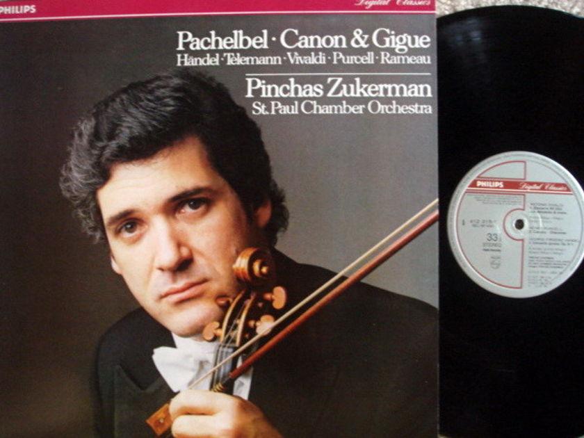 Philips Digital / ZUKERMAN, - Pachelbel Canon & Gigue,  NM!