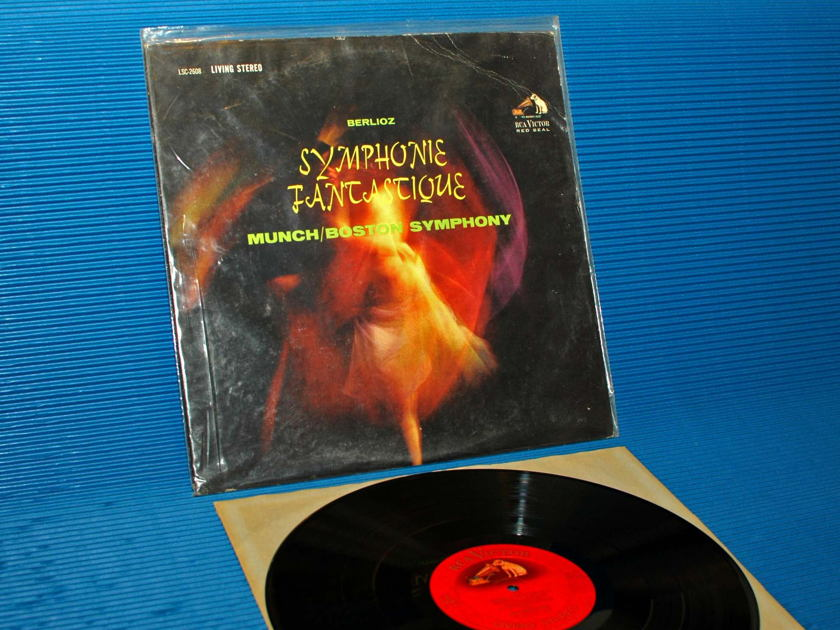 "BERLIOZ / Munch   - ""Symphonie Fantastique"" -  RCA 'Shaded Dog' 1962"