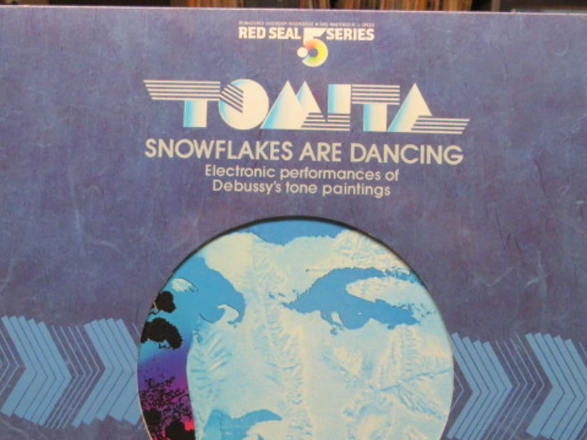 TOMITA - SNOWFLAKE ARE DANCING RED SEAL 5 SERIES