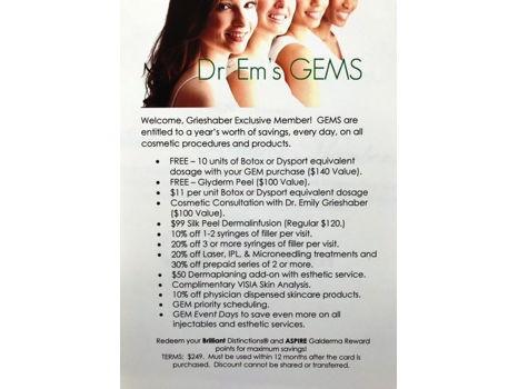 Dr. Em's GEMS Exclusive Membership
