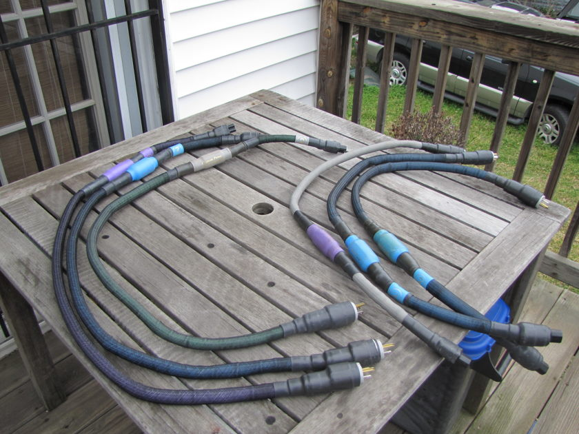 Custom Power Cord Company Top Gun Special Series [2] 120V / I have an assortment of cables, this auction is for the last 4 foot cord