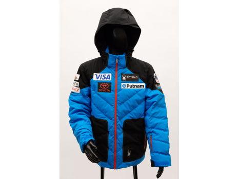 Official Men's U.S. Ski Team Down Jacket by Spyder, L