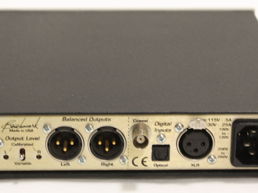 Benchmark Media Systems DAC 1   D/A converter. Financing Available.