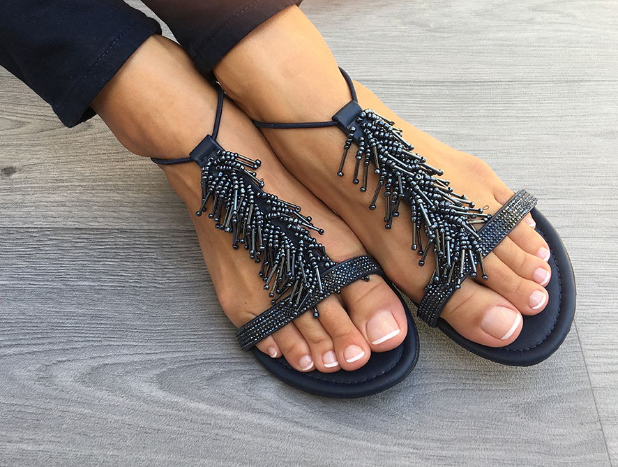 Twins Shoes, Flat Sandals