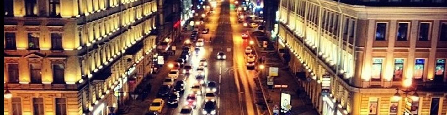 Прогулки по крышам в ночное время