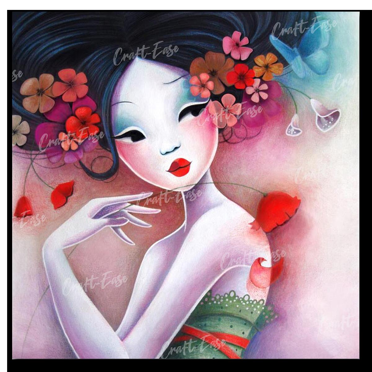 """""""Fancy Flowers"""" by Sybile Art"""