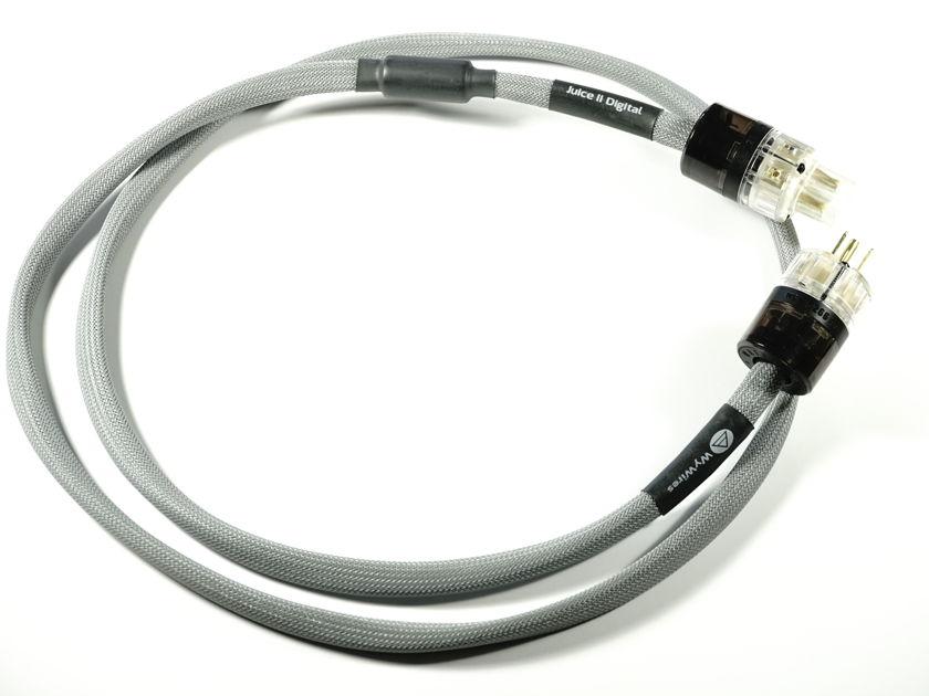 WyWires Digital Power Cord Juice II