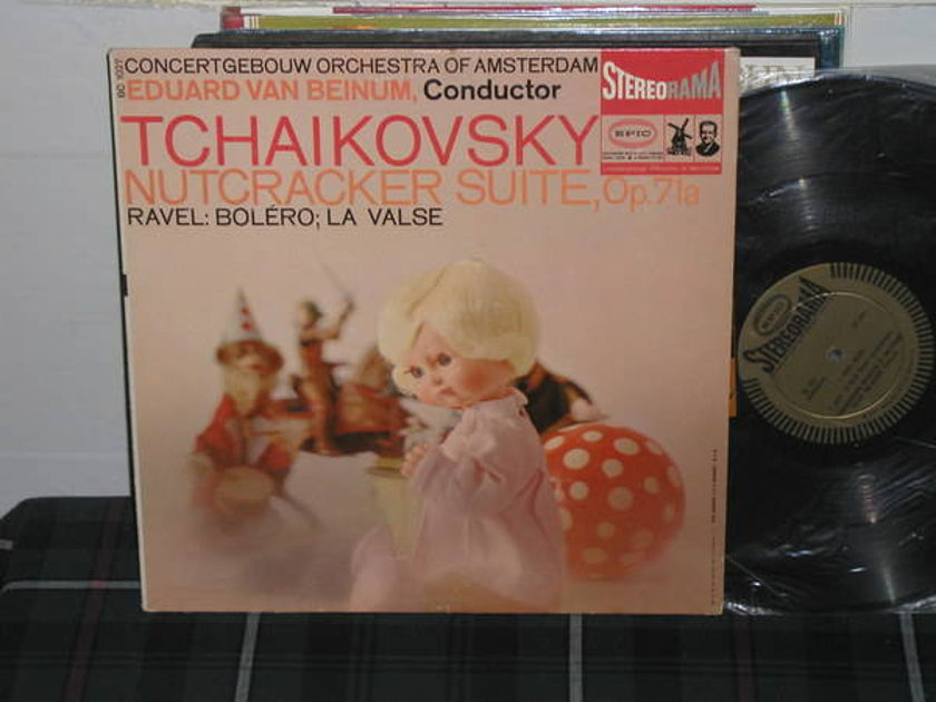 Van Bienum/COA - TchaIkovsky/Ravel EPIC Gold stereo LP