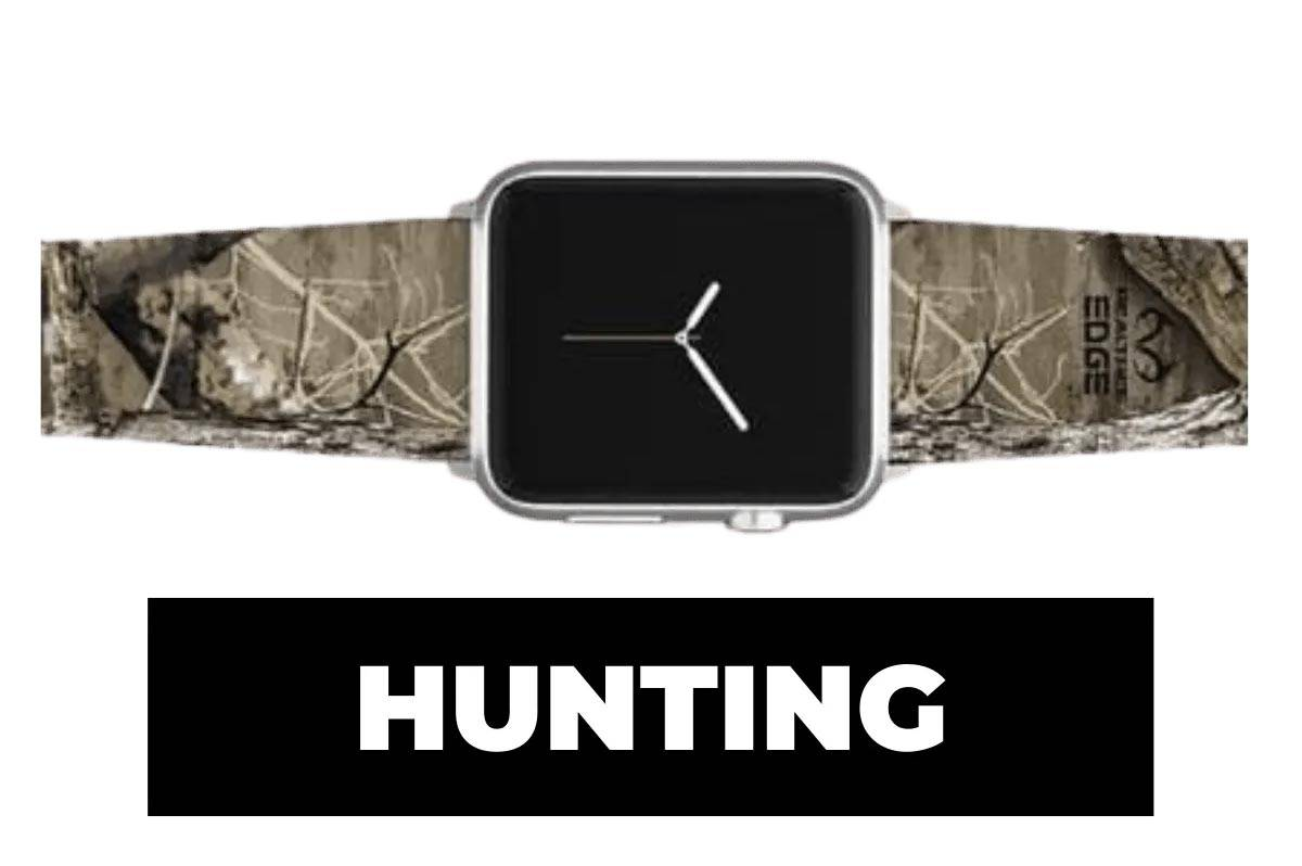 Hunting apple watch band
