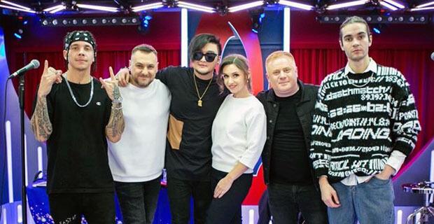 MBAND дали живой концерт у «Золотого микрофона» на «Русском Радио» - Новости радио OnAir.ru