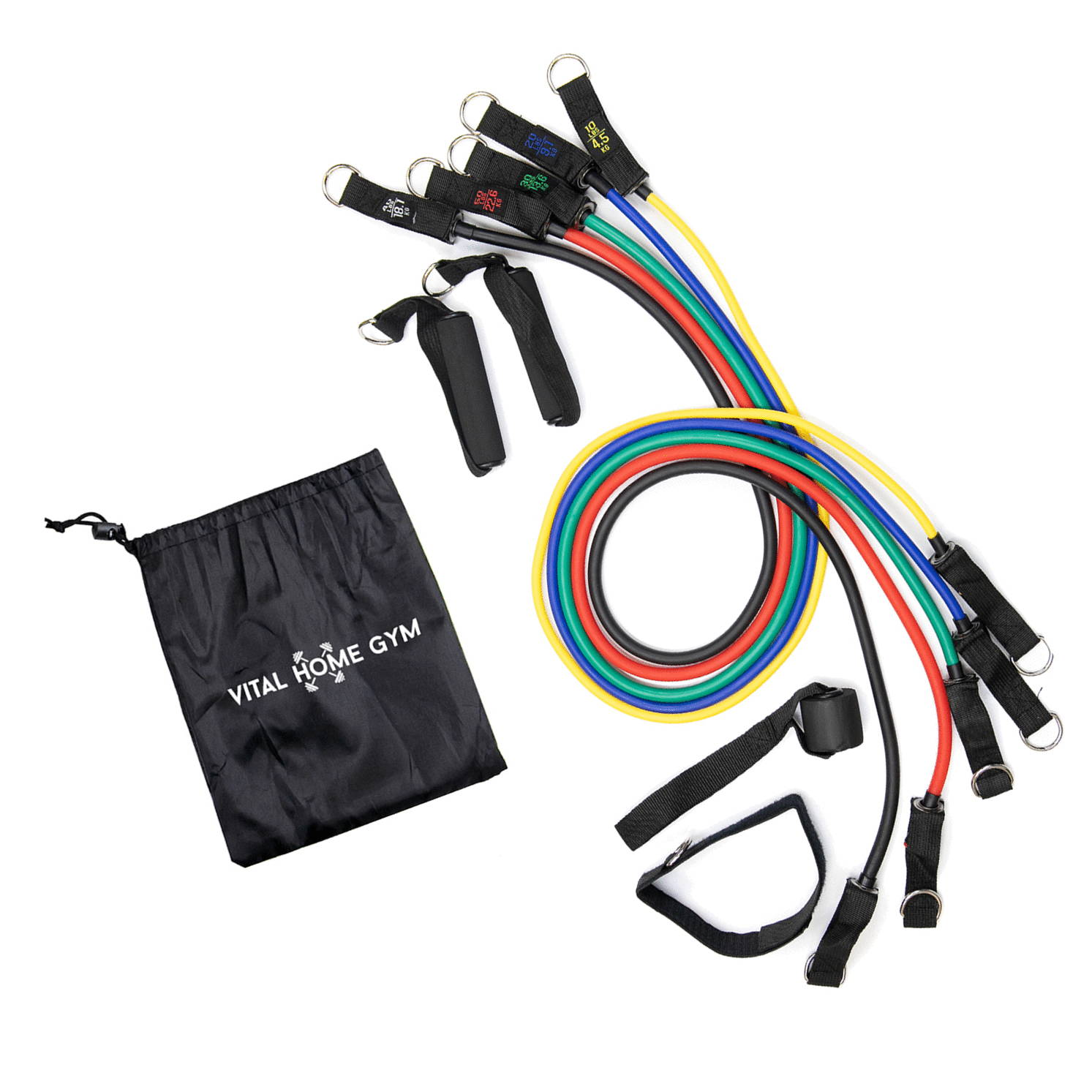Resistance Bands, Exercise Bands, Workout Bands