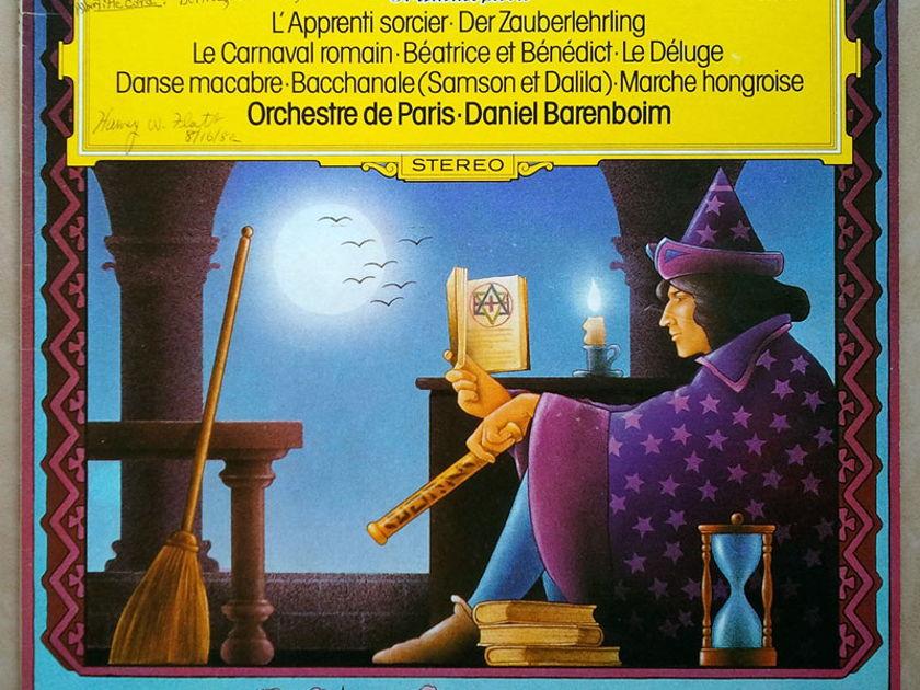 DG | BARENBOIM/DUKAS - L'apprenti sorcier, Saint-Saens Danse Macabre, Le Déluge, ... / NM