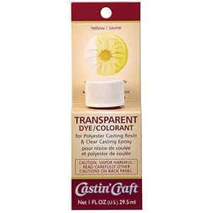 Yellow Transparent Dye
