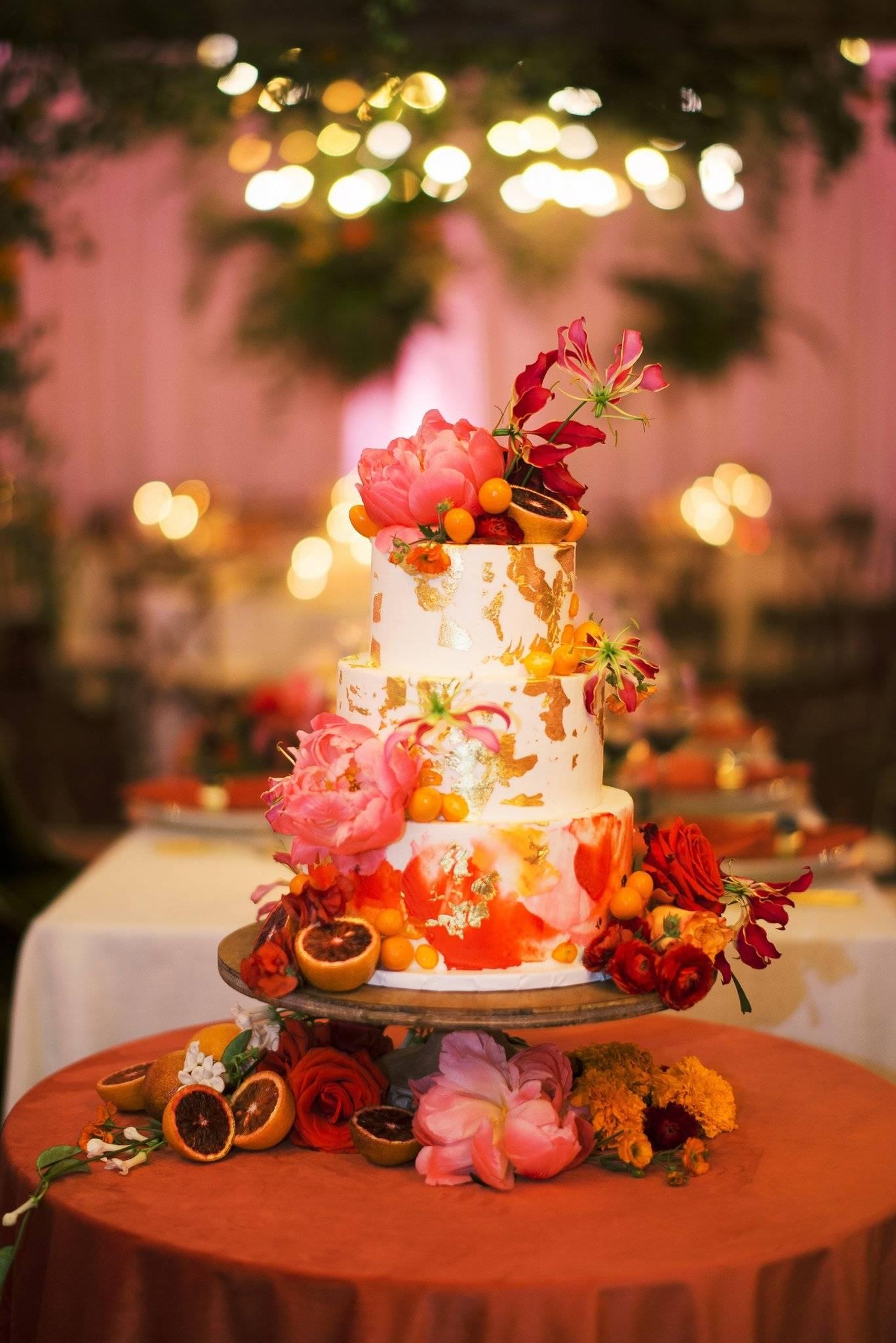Indian wedding | Blood Orange inspired wedding | Upstate New York Wedding florist