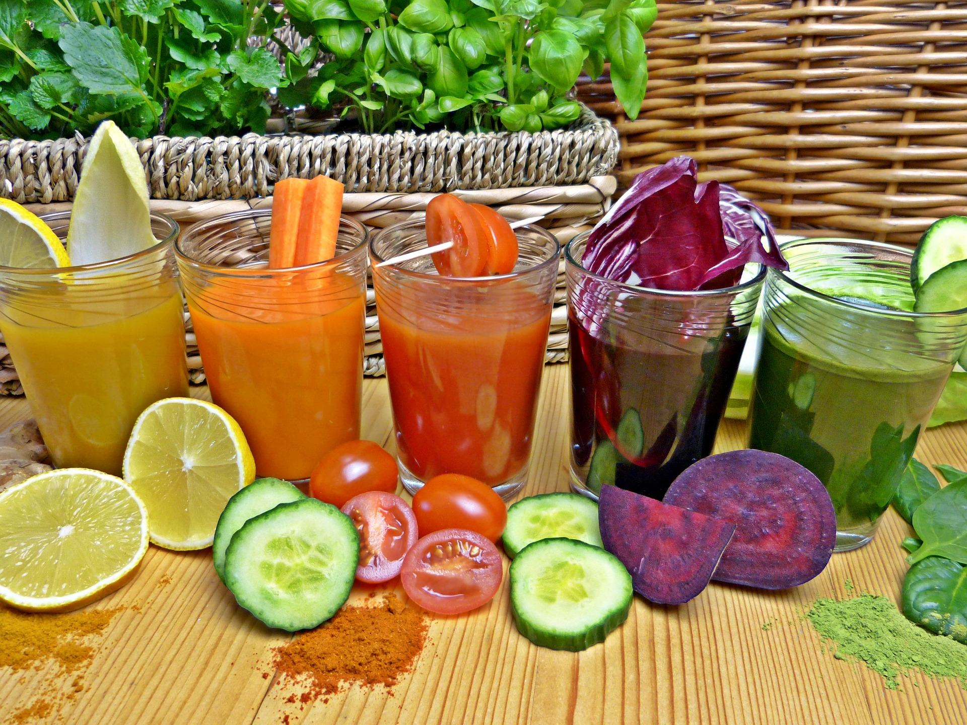 Get five a day with fruit or vegetable smoothie