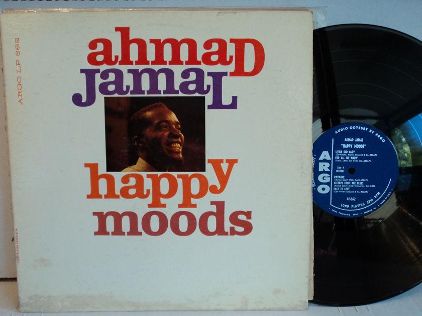 Ahmad Jamal - Happy Moods Argo LP 662 Mono