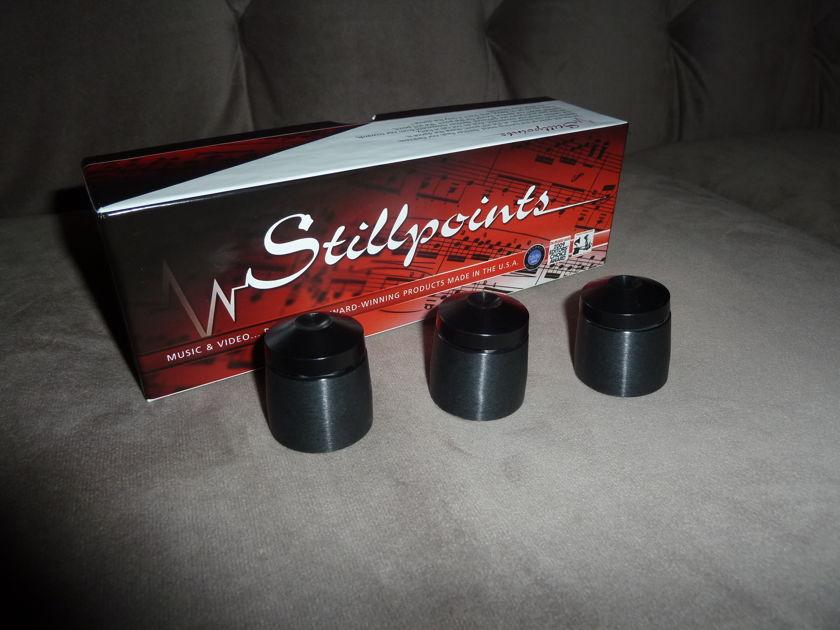 Stillpoints cones Ultra Aluminum Set of 3 free ship US 48 sav $$$$