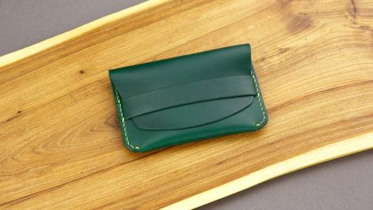 Изумрудный компактный кошелек