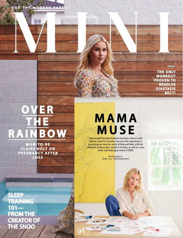 Karolina Kurkova Mini Mag featuring gryph and ivyrose Spring 2019
