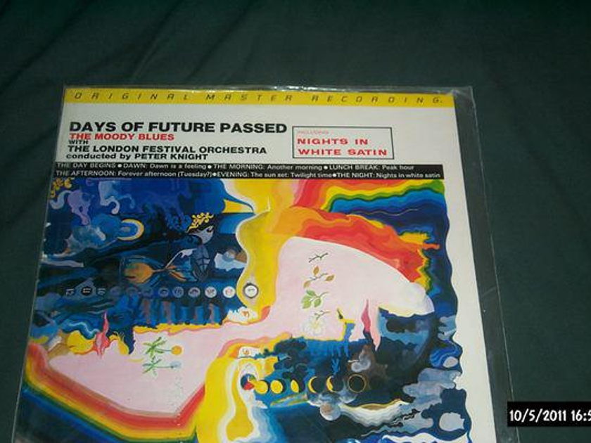 Moody Blues - Days Of Future Past mfsl audiophile lp nm