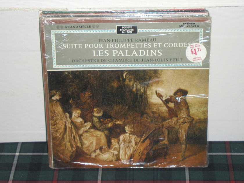 Jean Louis Petit - Rameau French import pressing