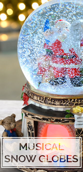 Musical Snow Globes
