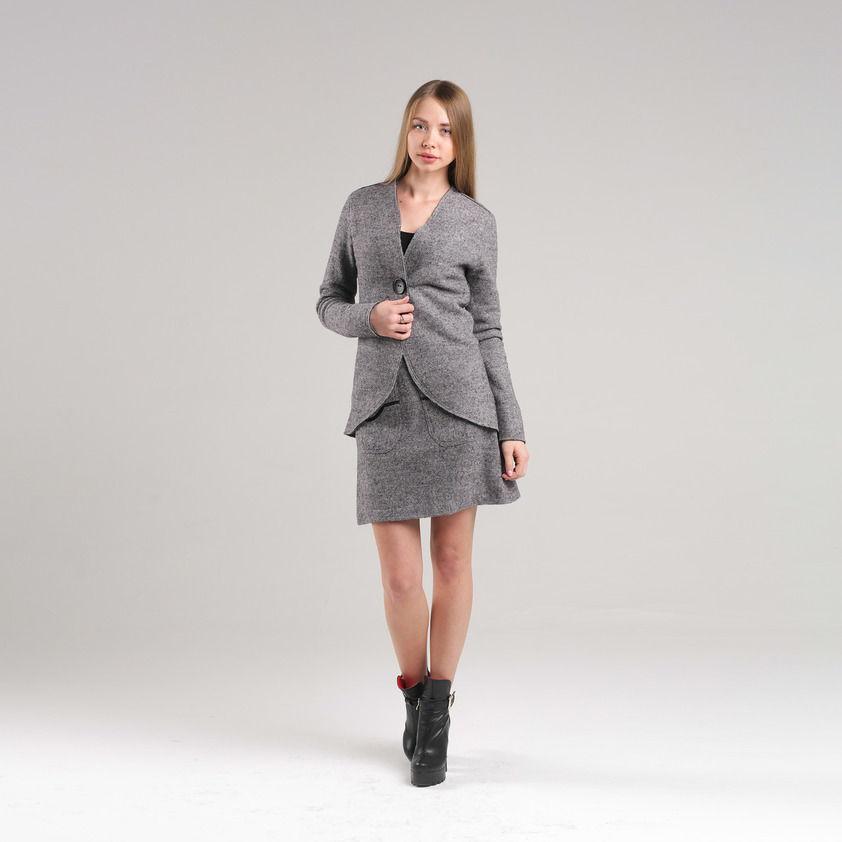 Пиджак из натуральной шерсти