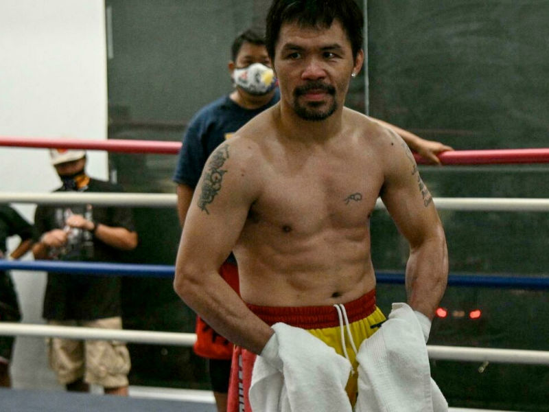 Manny Pacquiao odds