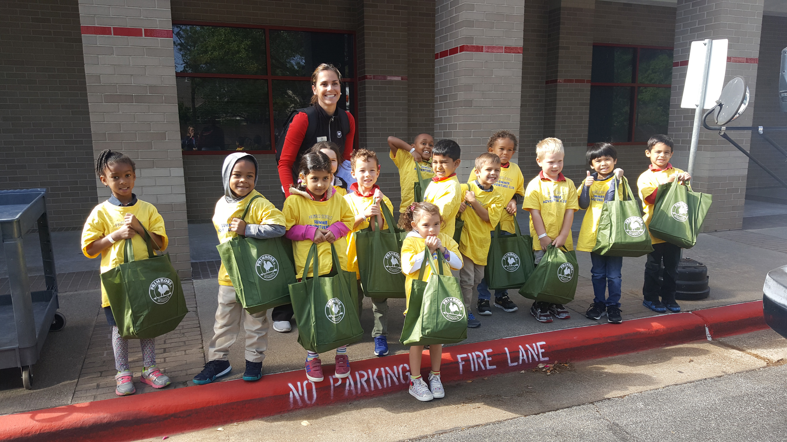Image of Houston Primrose students giving back