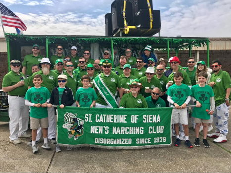 March with the SCS Men's Club in the St. Patrick's Day Parade