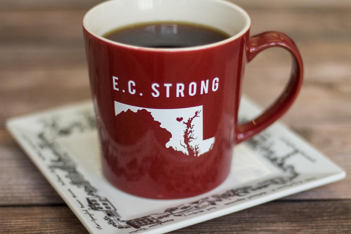 Primitive Beginnings Maryland theme Items homeware ceramic mug